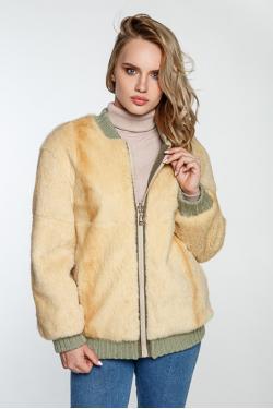 Двухсторонняя куртка из меха нутрии